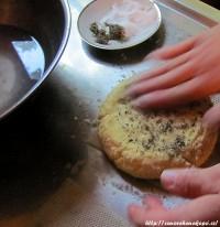 Přidání soli a máty